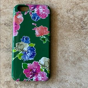 Kate Spade New York Spring Blooms Green iPhone 6S